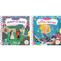 Beauty and the Beast/The Little Mermaid Childrens Books