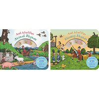 Nursery Rhymes/Animal Rhymes Childrens Books with CDs