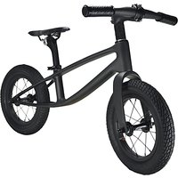 Kiddimoto The Karbon Balance Bike, 2-5 years, Matte Black