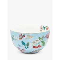 PiP Studio Floral 2.0 Hummingbird Bowl, Blue/Multi, Dia.23cm