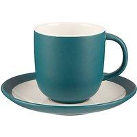 John Lewis Puritan Cup and Saucer, Spruce, Dia.7.7cm