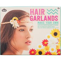 NPW Girls' Make Your Own Hair Garlands Kit