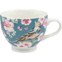 Cath Kidston Meadowfield Birds Tea Cup, Multi, 475ml