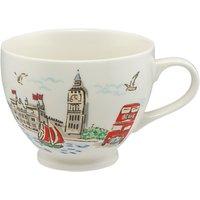 Cath Kidston London Tea Cup, Multi, 475ml