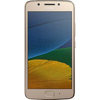 Moto G5 Smartphone, Android, 5, 4G LTE, SIM Free, 16GB
