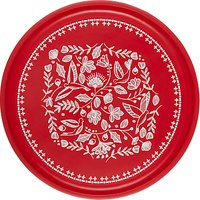 John Lewis Folklore Serving Tray, Red/White