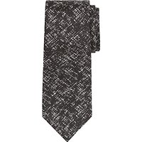 Richard James Mayfair Criss Cross Silk Tie, Black