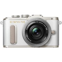 Olympus PEN E-PL8 Compact System Camera with 14-42mm EZ Lens, HD 1080p, 16.1MP, Wi-Fi, 3 LCD Touch Screen