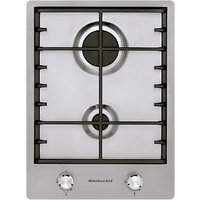 KitchenAid KHDD238510 Integrated Gas Hob, Stainless Steel