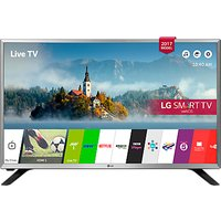 LG 32LJ590U LED HD Ready 720p Smart TV, 32 with Freesat HD & Freeview Play, Silver