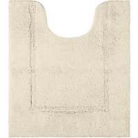 John Lewis and Partners Deep Pile Pedestal Mat with Microfresh Technology, 50 x 55cm