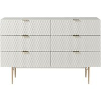 West Elm Audrey 6 Drawer Chest/Dressing Table