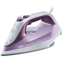 Braun SI7066VI Texstyle 7 Pro Steam Iron, Purple/White