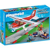 Playmobil City Action Plane Playset