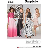 Simplicity Womens Occasion Dress Sewing Pattern, 8328