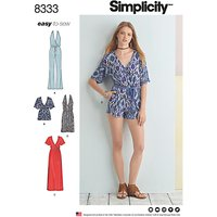 Simplicity Womens Jumpsuit Sewing Pattern, 8333