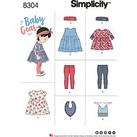 Simplicity Baby Gear Sewing Pattern, 8304