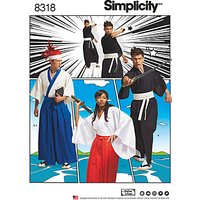 Simplicity Pattern Misses', Men's and Teen's Costumes, 8318
