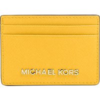 MICHAEL Michael Kors Jet Set Travel Leather Card Holder