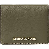 MICHAEL Michael Kors Jet Set Travel Leather Flap Card Holder