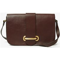 John Lewis & Partners Aurora Leather Small Satchel