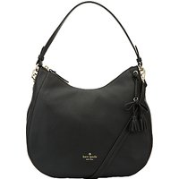 kate spade new york Hayes Street Aiden Leather Satchel, Black