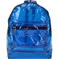 Mi-Pac Classic Transparent Backpack, Blue