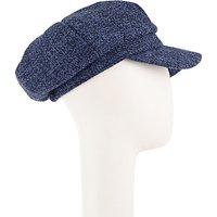 John Lewis Bakerboy Hat, Blue Mix