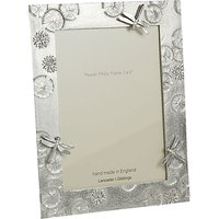 Lancaster and Gibbings Pewter Dragonfly Photo Frame, Silver, 7 x 5 (18 x 13cm)