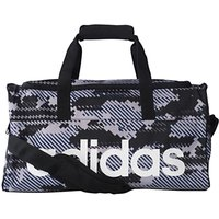 Adidas Linear Performance Team Bag, Small, Grey/Black