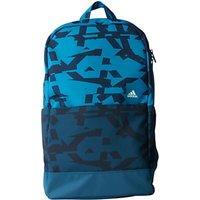 Adidas Classic Graphic Backpack, Medium, Blue
