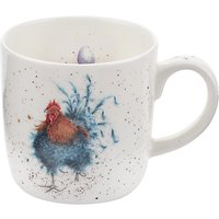 Royal Worcester Wrendale Cockerel Mug, Multi, 310ml