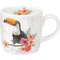 Royal Worcester Wrendale Toucan Mug, Multi, 310ml