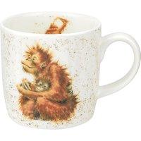 Royal Worcester Wrendale Orangutan Mug, Multi, 310ml