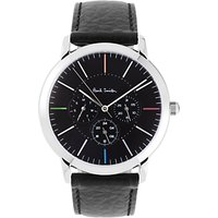Paul Smith Mens Ma Leather Strap Watch