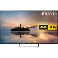 Sony Bravia KD65XE7003 LED HDR 4K Ultra HD Smart TV, 65 with Freeview Play & Cable Management, Black