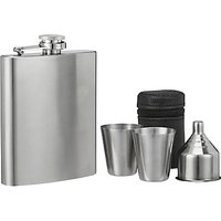 John Lewis Hip Flask and Shot Set