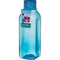 Sistema 725ml Square Bottle, Assorted Colours