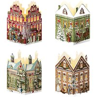 Coppenrath Nostalgic Christmas House Mini Advent Calendar Lantern, Assorted