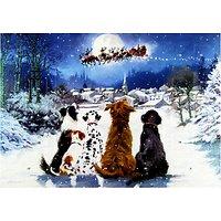 Dogs and Santa Christmas Medium Advent Calendar