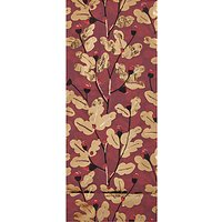 John Lewis Highland Acorns Tissue Paper, Red / Gold
