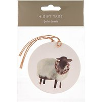 John Lewis Highland Myths Sheep Gift Tags, Pack of 4