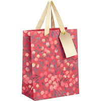 Kelly Ventura Gift Bag, Red Berry, Small