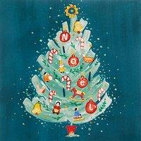 John Lewis Noel Tree Charity Christmas Cards, Pack of 6