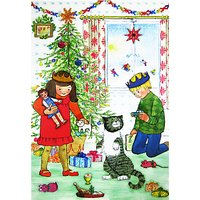 Mog Christmas Medium Sticker Advent Calendar