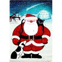 Santa Christmas Medium Advent Calendar