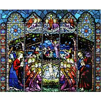 Stained Glass Window Christmas Advent Calendar
