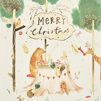 John Lewis Tea Party Charity Christmas Cards, Pack of 6