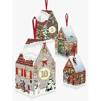 Coppenrath Victorian Christmas Houses Advent Boxes, Pack of 24