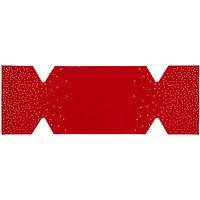 John Lewis Felt Cracker Table Centrepiece, Red